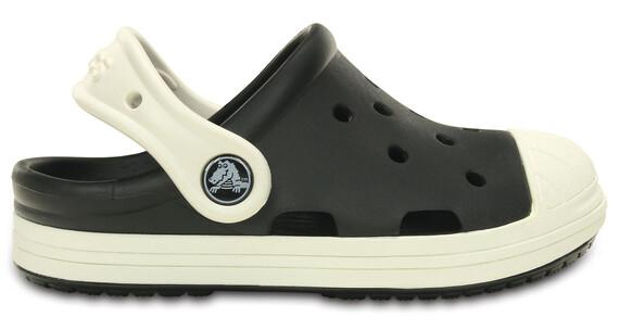 Crocs Bump It Clogs Kids Black-Oyster